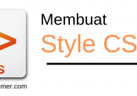 Style css pada html