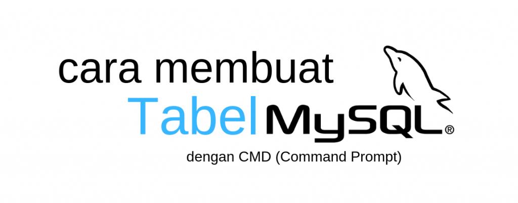 Cara Membuat Tabel Di Mysql Dengan Cmd Kelas Programmer
