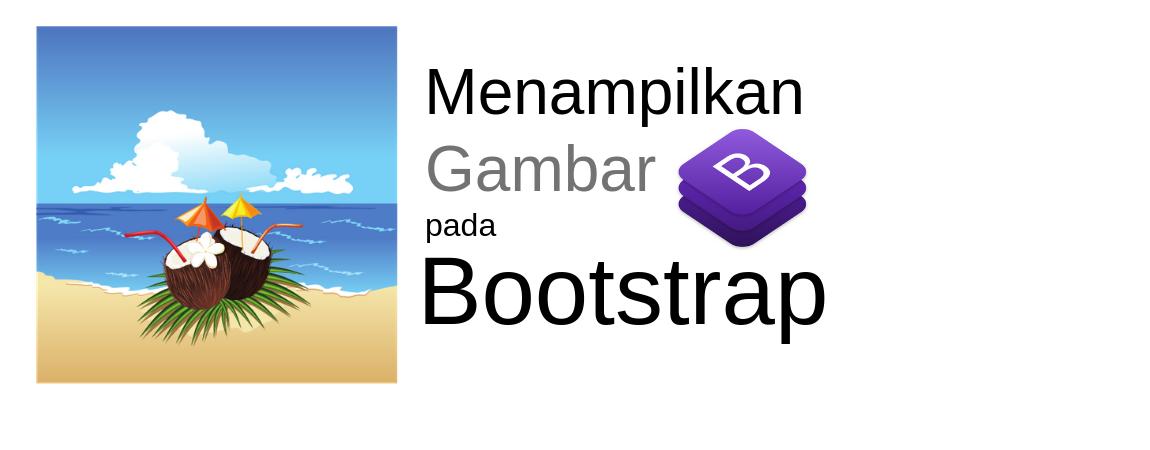 menampilkan gambar dengan bootstrap