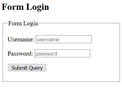 contoh form login tanpa bootstrap