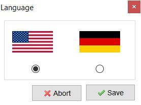 pilih bahasa xampp