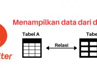 menampilkan data dua tabel codeigniter