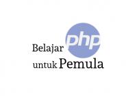 Belajar php untuk pemula