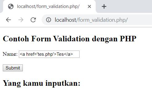 contoh input field name