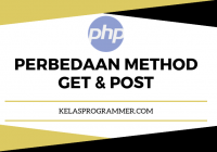 perbedaan method get & post