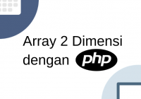 array 2 dimensi php