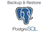 backup dan restore database postgreSQL