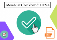 Membuat Checkbox di html