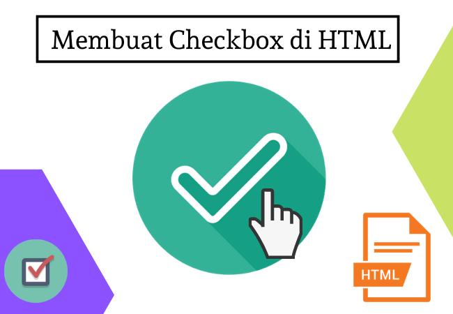Membuat Checkbox di html