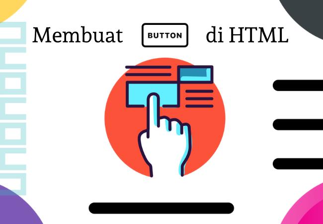 Membuat button di html