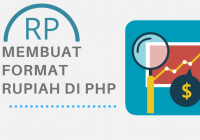 Membuat format rupiah PHP