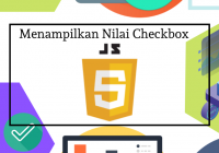 mengambil nilai checkbox dengan javascript