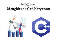 program menghitung gaji karyawan