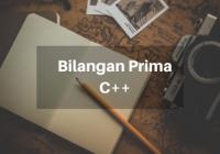 Bilangan Prima C++