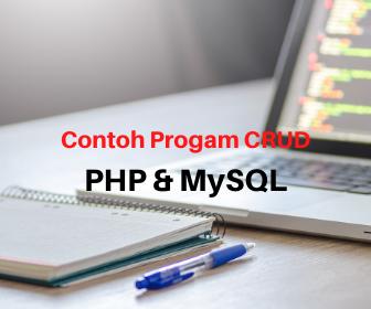 Contoh Aplikasi CRUD PHP & MySQL Sederhana