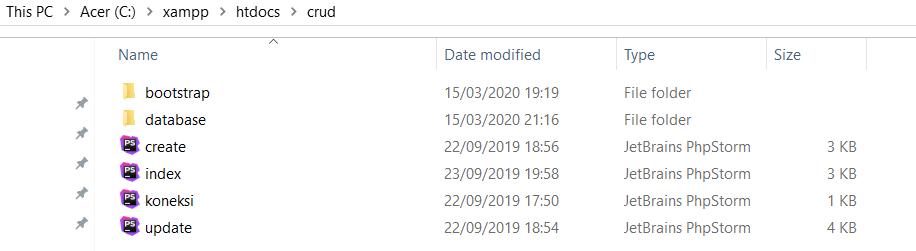 daftar file