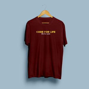 code for life t-shirt