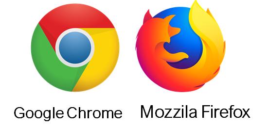 browser yang di gunakan