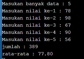 program pascal menggunakan array