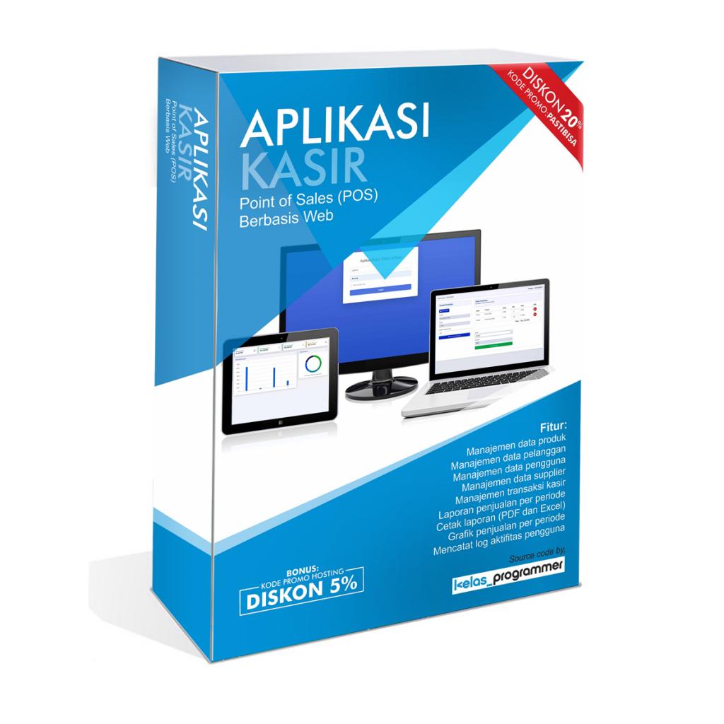 download source code aplikasi penjualan kasir berbasis web