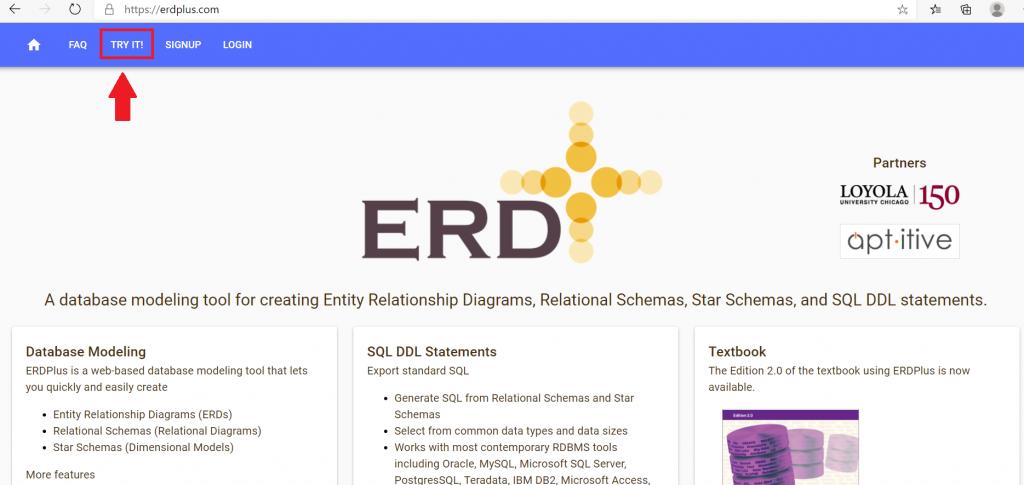 tampilan awal situs erdplus.com