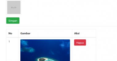 upload file gambar atau foto di php