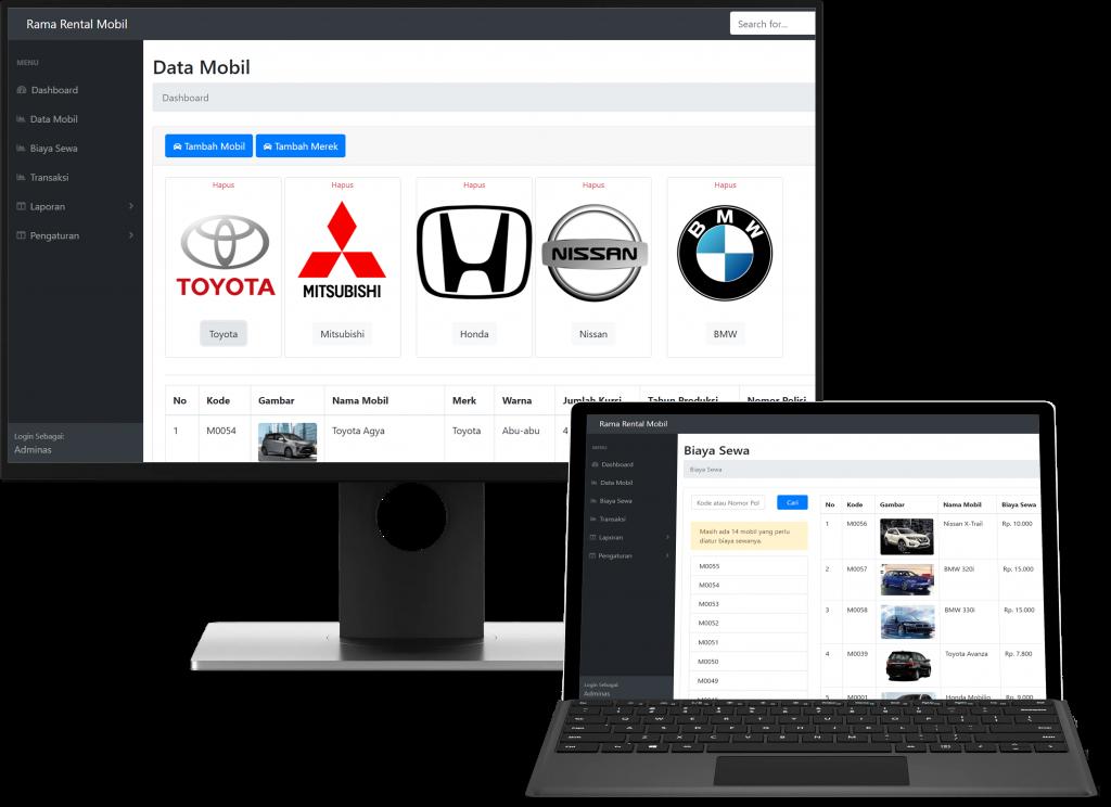 Download Aplikasi Rental Mobil Berbasis Web